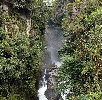 Pman, verso nord – Riobamba e Baños